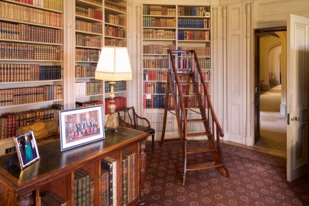 The Library - looking towards the Gothic Corridor